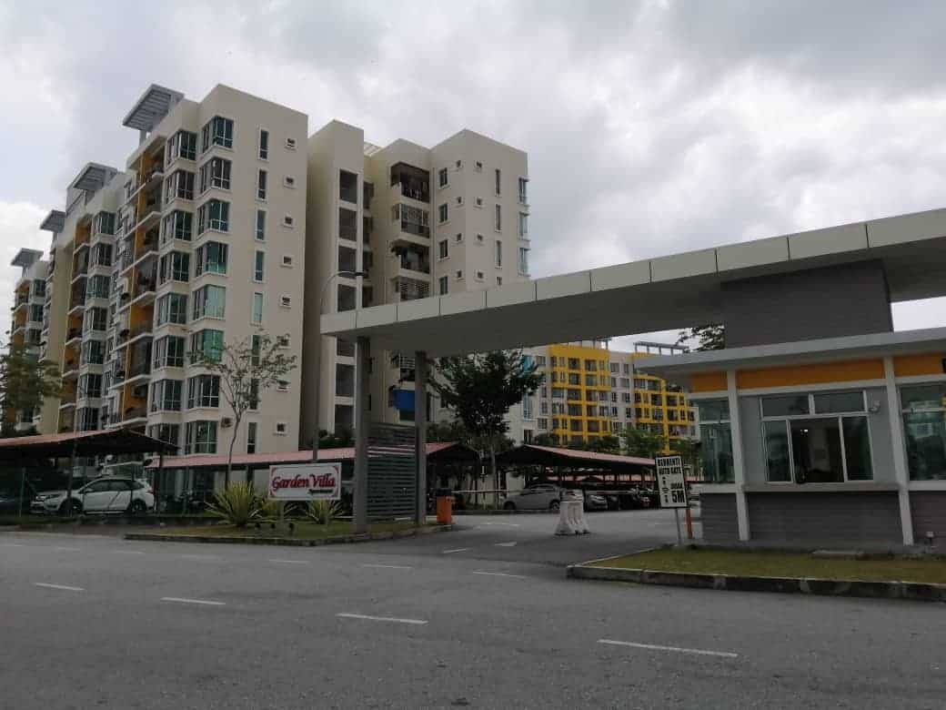 For Sale : Garden Villa Apartment, Senawang